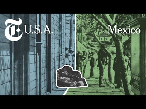 How Walls Ended Up Along the US-Mexico Border  NYT News