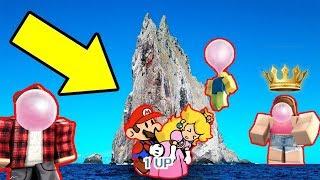WE FOUND A HIDDEN ISLAND! Roblox Bubble Gum Simulator #2