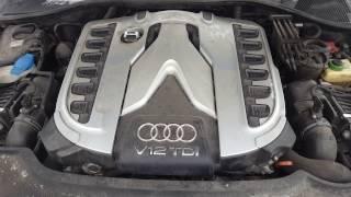 Осмотр Audi Q7 V12. Запуск не прогретого 6.0TDI