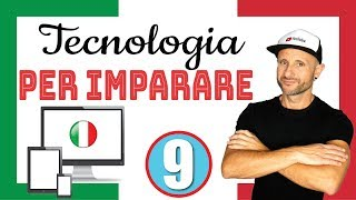 TECH TO LEARN ITALIAN - Italian Listening & Comprehension Practice [Video in slow Italiano]