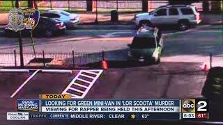 Police search for green mini-van in Lor Scoota murder
