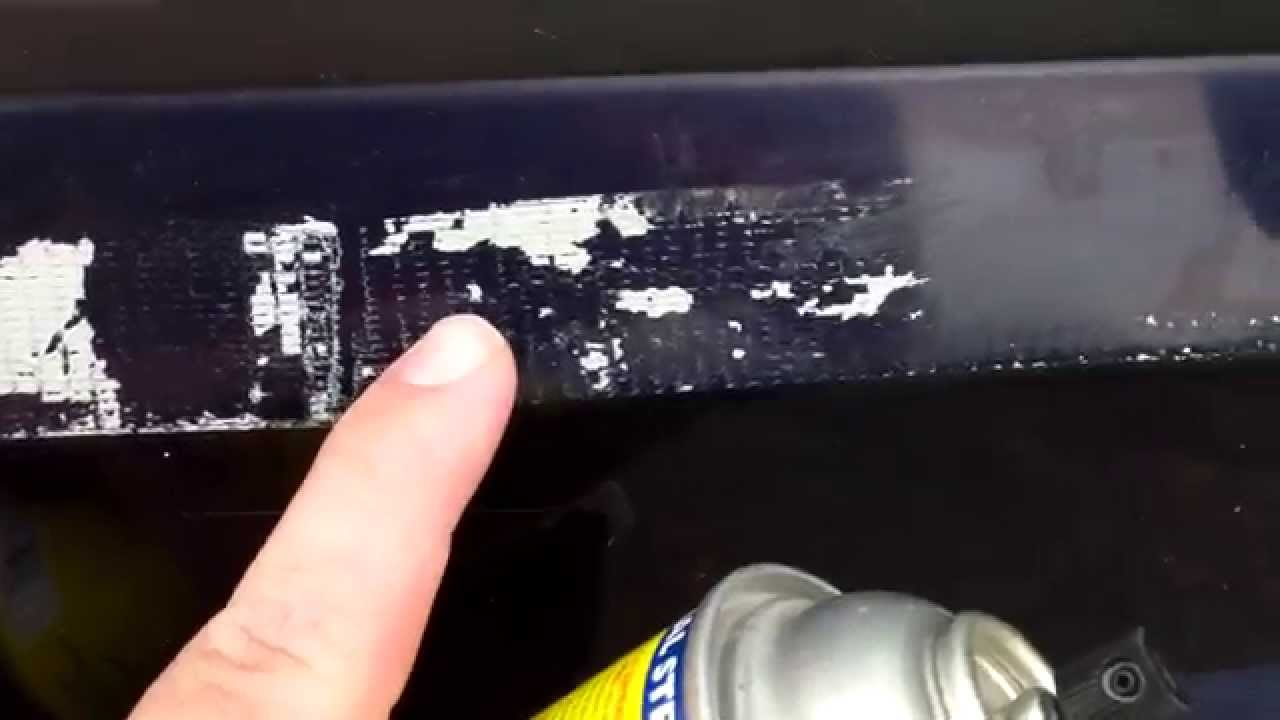 How To Remove Glue Residue From Car Paint