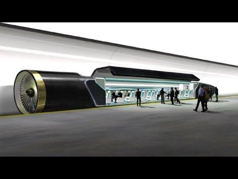 Hyperloop one - el tren más rápido del mundo en México