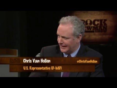 Congressman Chris Van Hollen with Rock Newman