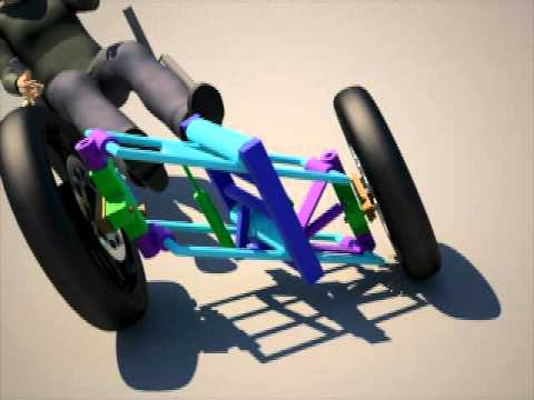 Tilt Trike Suspension Test Avi Youtube