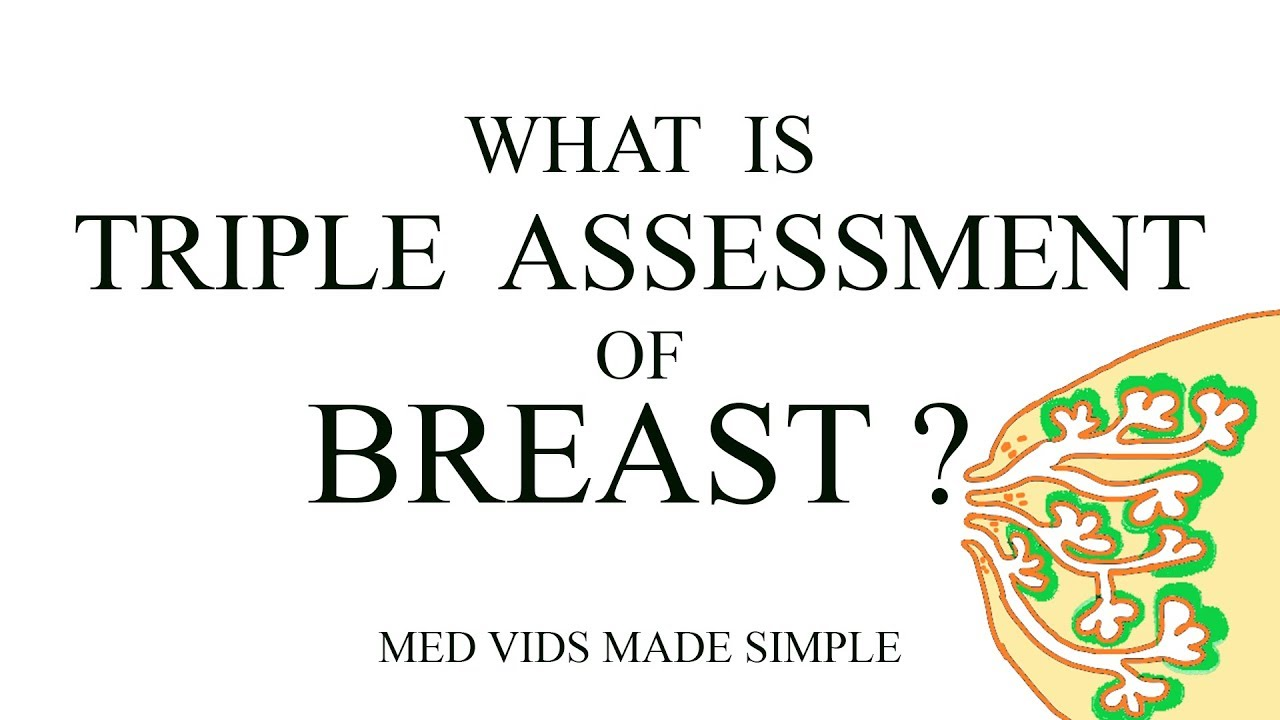 Triple assessment of breast   Clinical examination, Radiology, Histopathology   medvidsmadesimple #MedicalRadiology