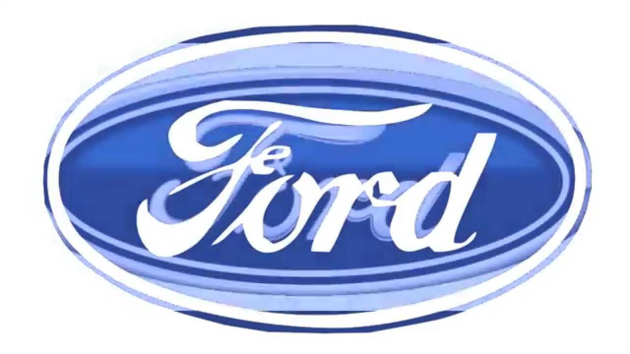 2003 Ford Logo Animation