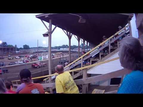 Belle Clair Speedway Purestock Heat August 15 2014