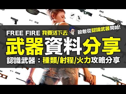 Free Fire ( 我要活下去) 1.0 武器資料分享認識武器武器選擇武器戰力 ...