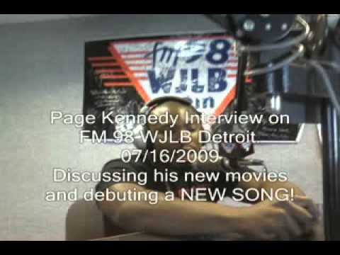 Page Kennedy interview on FM 98 WJLB Part 1