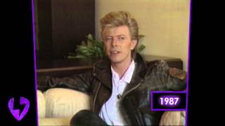 David Bowie: On Working With Peter Frampton (Interview - 1987)