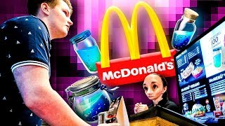Je vais au McDonalds et commander de la nourriture Fortnite dans la vraie vie ... 'se termine mal'