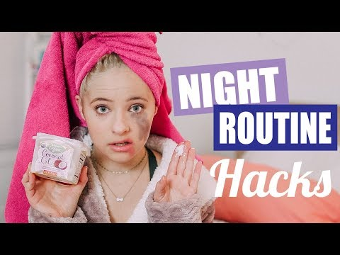 Night Routine Life Hacks