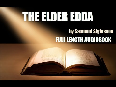THE ELDER EDDA, by Sæmund Sigfusson - FULL LENGTH AUDIOBOOK