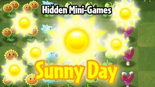 Plants vs. Zombies 2 PAK - Sunny Day (Hidden Mini-Game)
