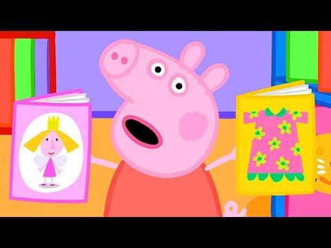 小猪佩奇 第三季 全集合集 | 图书馆 | 粉红猪小妹|Peppa Pig | 动画
