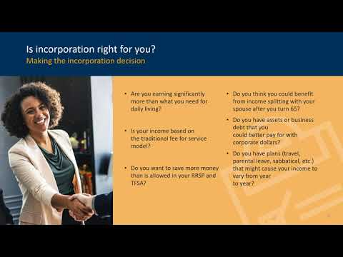 Webinar | Introduction to Incorporation (June 12, 2020)