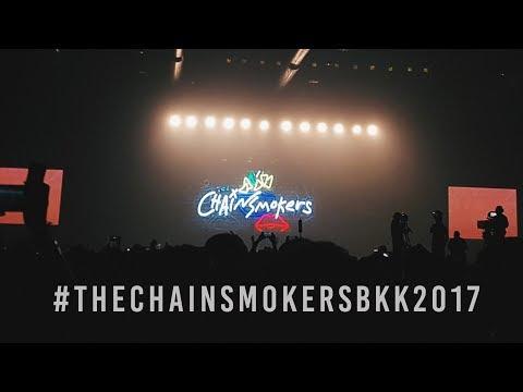 The Chainsmokers Live Tour in Bangkok 2017 | KahnJi