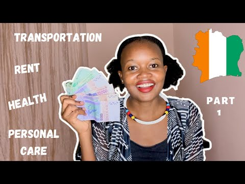 COST OF LIVING IN ABIDJAN IVORY COAST 2020 | Part 1| RENT, TRANSPORTATION, HEALTH CARE