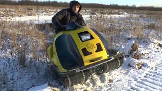 снегоболотоход химера