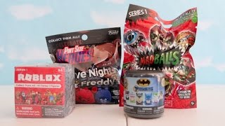 Roblox, 5 Nights at Freddy's, Madballs, Batman Toy Surprise | ThePlusSideOfThings