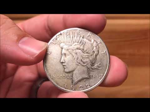 Hunting Scrap Silver Dollars for Nice Coins & Varieties - Instead I find a Rare Mint Error!