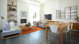 Interior Design — Light-Filled Open-Concept Modern Family Townhouse