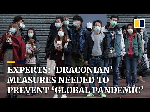 Coronavirus: Hong Kong medical experts urge 'draconian' measures as study claims 44,000 cases in Wuh