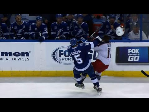 Gotta See It: Girardi destroys Calvert with potential hit of the year