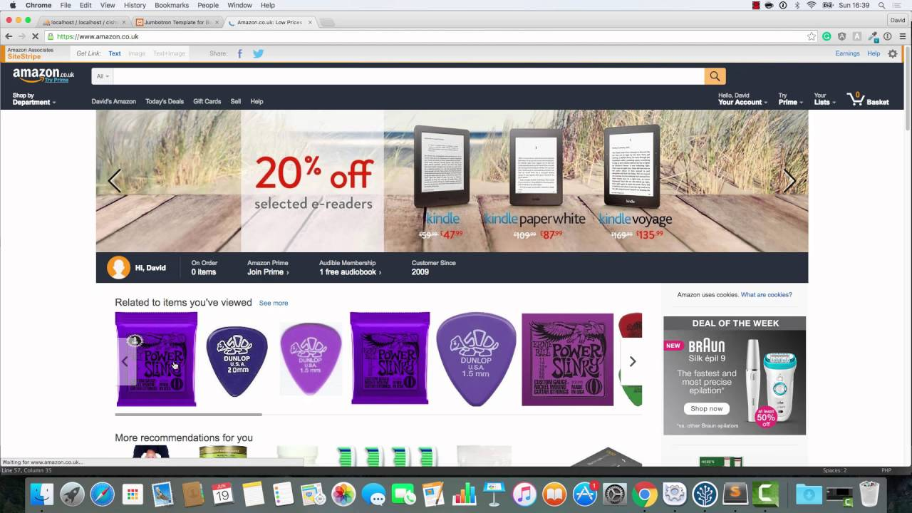 Build an online shop with Codeigniter - part 18: the show item page