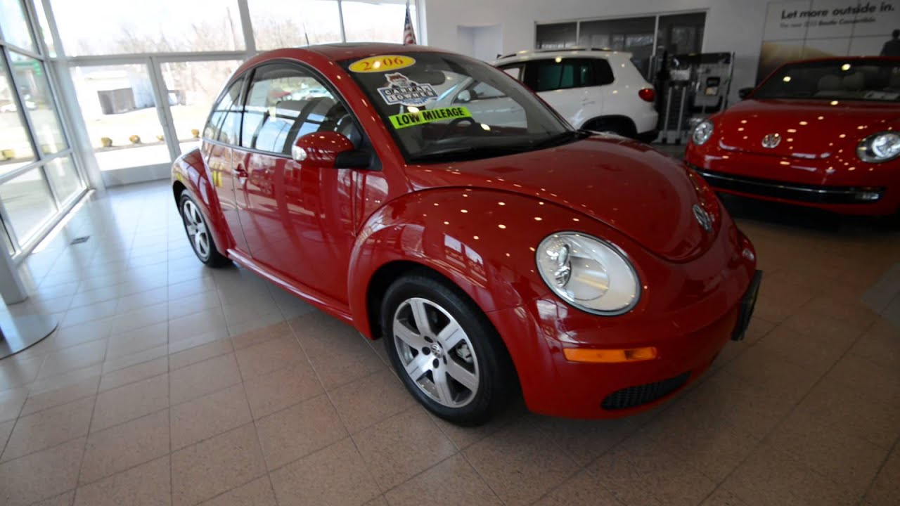 2006 Volkswagen New Beetle Coupe Low Miles Stk 3300a