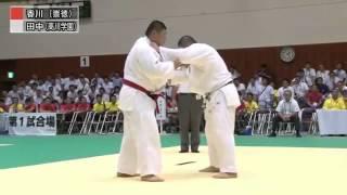 【Men's +100kg】香川大吾(崇徳高) VS 田中源大(高川学園高)