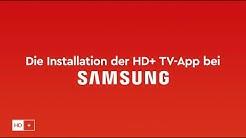 """HD+ Tutorial """"Die Installation der HD+ TV-App bei Samsung"""""""