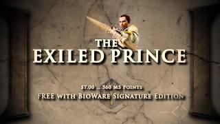 DA2 Bonus Companion Revealed -- The Exiled Prince