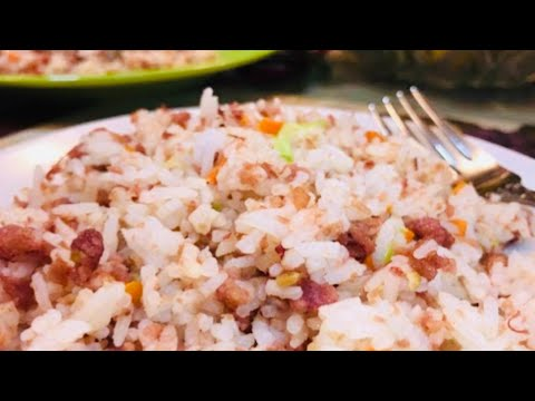 Quick & Easy: CORNED BEEF LOAF FRIED RICE Recipe