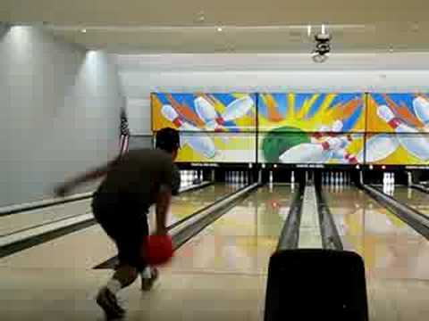 Gabe bowling @Pacific Bowl 7/12/08  #2