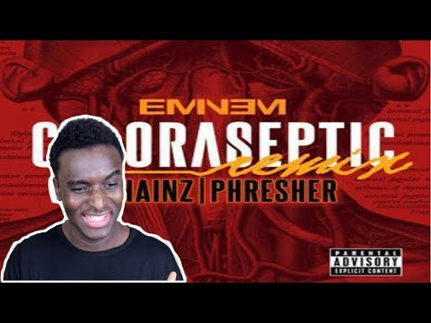 Eminem - CHLORASEPTIC Remix - REACTION/REVIEW