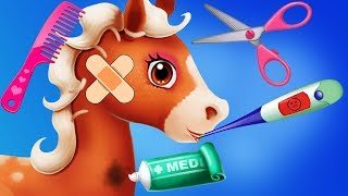 Fun Horse Care Games - Virtual Pet Pony Dress Up, Race, Clean, Vet Care Makeover Kids & Girls Games