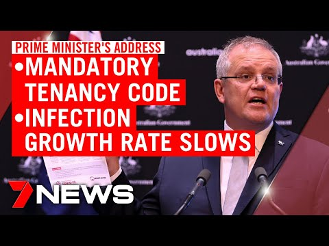 Coronavirus: Scott Morrison Announces Commercial Tenancy Code And Slowing Growth Rate | 7NEWS