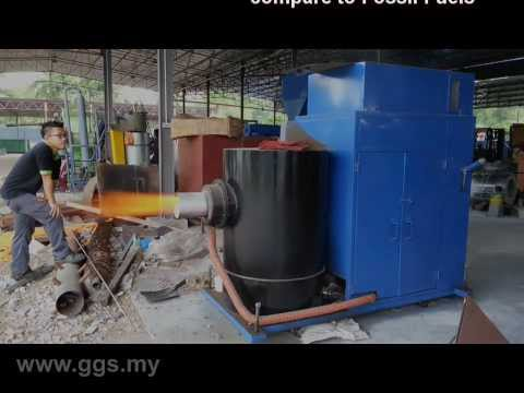 GGS Industrial Biomass Burner