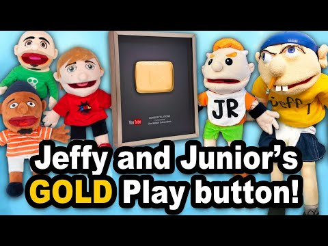 SML Movie: Jeffy and Junior's Gold Play Button!