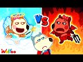 Wolfoo!!! Baby Lucy is Angel or Demon - Kids Stories About Baby   Wolfoo Family Kids Cartoon