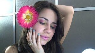 Make Primavera com produtos Laninha MakeUp