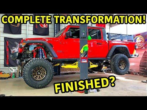 Rebuilding A Wrecked 2020 Jeep Gladiator Rubicon Part 14