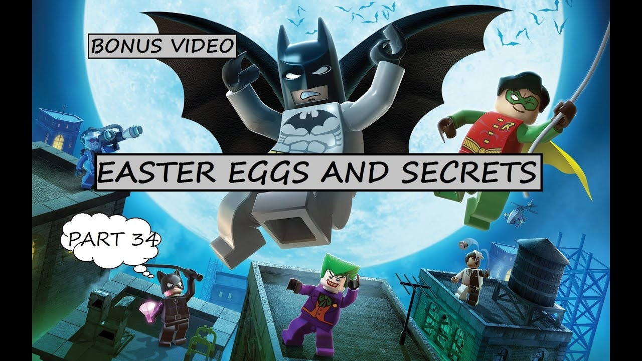 Lego Batman: The Videogame 10 Years On- Easter Eggs - YouTube