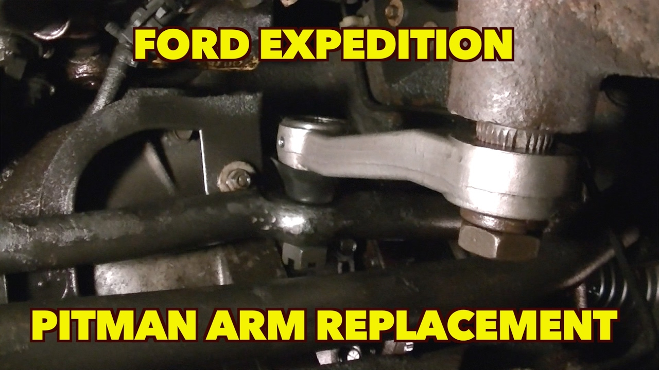 Pitman Arm Replacement...It can be done...Just Simple ...