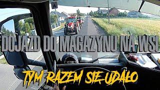 Dojazd do magazynu na wsi | KrychuTIR™