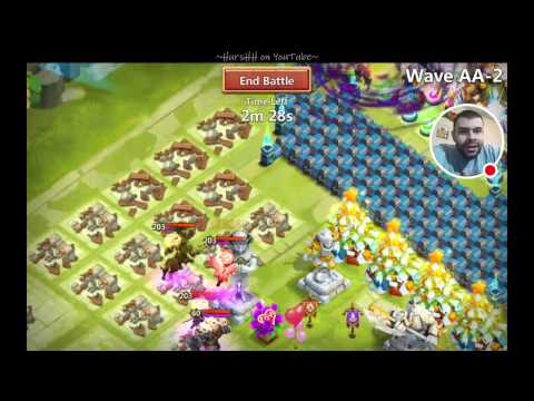 Castle Clash: Torches, Boss Fight, And HBM AA