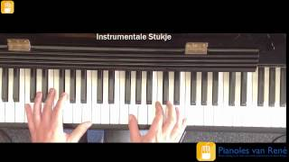 ten feet tall afrojack ft wrabel piano tutorial nederlands