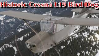 Karl Habsburg v Lothringen Freedom flight Friedensflug Italy Austria in historic Cessna L19 Birddog